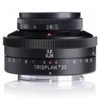 35+: Meyer-Optik startet Aktion für drittes Trioplan-Objektiv