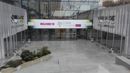 Auf dem Cable Congress 2017 in Brüssel