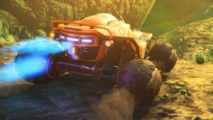 Das Update The Path Finder für No Man's Sky bietet Fahrzeuge.