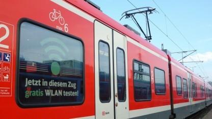 Regionalzug mit WLAN