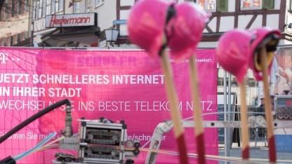 Netzausbau der Telekom, meist ist es FTTC
