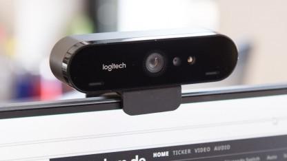 Die Brio ist die erste Webcam von Logitech mit 4k-Modus.