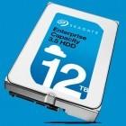 Seagate: 12-TByte-Heliumfestplatten starten für den Servermarkt