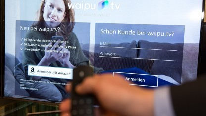 Waipu TV läuft auf dem Fire TV.