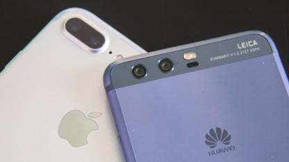 Huawei und Apple liegen nah beieinander in der Liste der erfolgreichsten Smartphone-Hersteller des zweiten Quartals 2017.