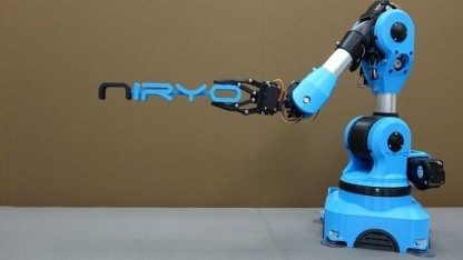 Niryo One: Greifer, Elektromagnet oder Stifthalter