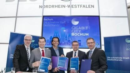 Bochum soll die erste Gigabitcity Deutschlands werden