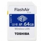 SD-Karte mit WLAN: Toshiba zeigt Flashair-Wireless-SD-Karte mit 64 GByte