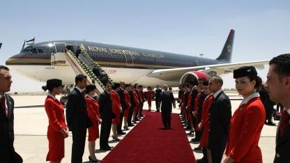 Die jordanische Fluggesellschaft Royal Jordanian Airlines ist von dem Laptop-Verbot betroffen.