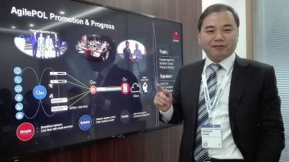 Jeff Wang, President der Huawei Access Product Line