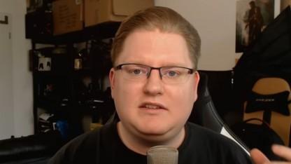 Der Streamer Peter Smits in einem seiner Videos
