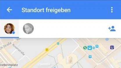 Über Google Maps können Nutzer den Standort in Echtzeit teilen.