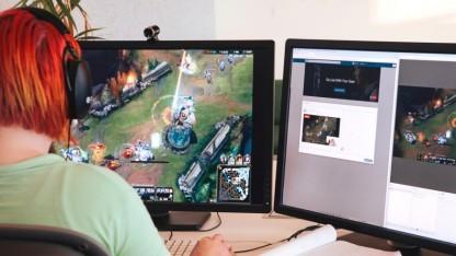 Computerspiele können nun besonders einfach live übertragen werden.