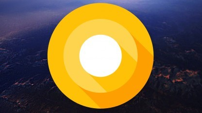 Das aktuelle Logo von Android O - einen offiziellen Namen hat die Distribution noch nicht.