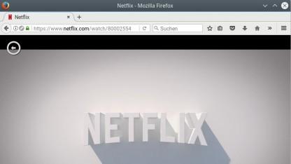 Netflix läuft jetzt auch unter Linux im Firefox-Browser.