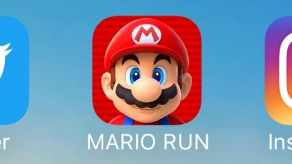 Logo von Super Mario Run