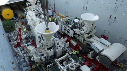 Roboter für das Deep Sea Mining