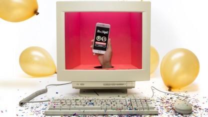 Tinder Online bietet Dating auf dem Desktop.