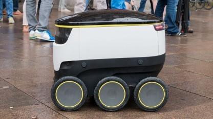 Lieferroboter von Starship Technologies: zu wenig Pizzaboten