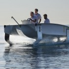 Transport: Sea Bubbles testet foilendes Elektroboot