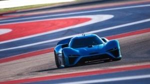 Nio EP9 auf dem Circuit Of The Americas: Rundenrekorde mit und ohne Fahrer