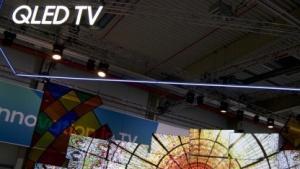 Mit QLED-Displays will Samsung vor allem gegen die OLED-Panels bestehen.