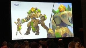 Mit dieser Konzeptgrafik hat Blizzard auf der GDC 17 die neue Heldin für Overwatch vorgestellt.