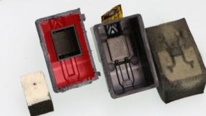 HP-Tintenpatrone: viel Luft in einer Plastikhülle