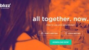Die Blizz-App kann auf der Homepage heruntergeladen werden.