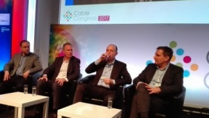 Auf dem Panel zu Docsis 3.1 in Brüssel