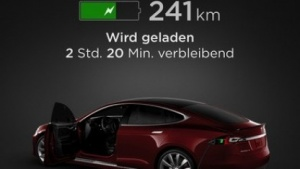 Tesla-App für iOS