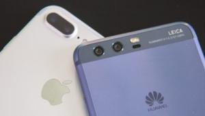 Das iPhone 7 Plus und das Huawei P10