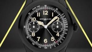 Montblancs erste Smartwatch, die Summit