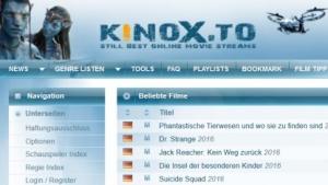 Auch Kinox.to verteilte betrügerische Anzeigen.
