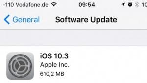 Mit iOS 10.3 kommt ein neues Dateisystem.