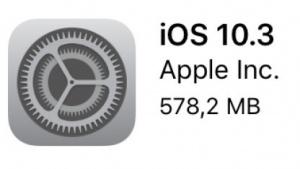 Ist da: iOS 10.3