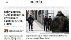 Die spanische Tageszeitung El País lehnt ein europäisches Leistungsschutzrecht ab.