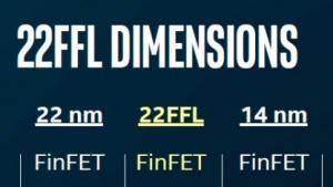 22FFL ist ein kostengünstiger FinFet-Prozess.