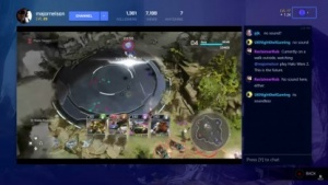 Beam ist in die Xbox One integriert.