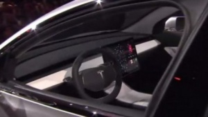 Innenraum des Model 3