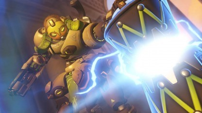 Heldin Orisa in Overwatch