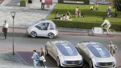 Autonom-automobile Zukunft