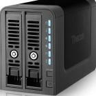 Thecus N2350: Mini-NAS mit Platz für zwei Festplatten und Online-Backup