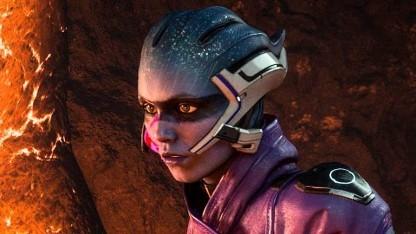 Asari in Mass Effect Andromeda