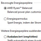 Windows 10: AMD-Energiesparplan steigert Spieleleistung der Ryzen-CPUs