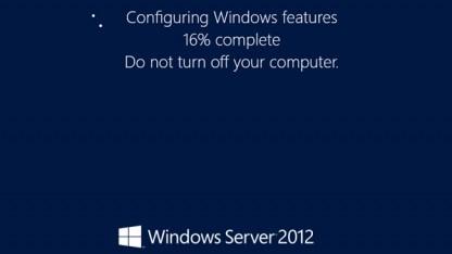 In Windows Server 2012 konnte die GUI einfach installiert oder deinstalliert werden.