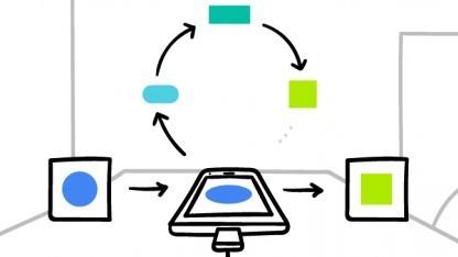 Google lernt die Tastatur-App Gboard auf dem Smartphone an.