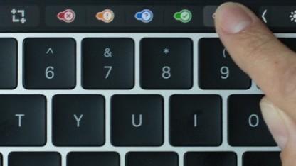Evernote mit Touch-Bar-Unterstützung