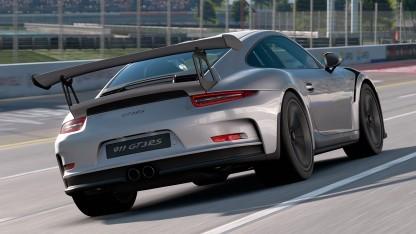 Auch der 911er fährt mit in Gran Turismo Sport.