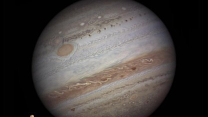 Jupiter: weitere Phänomene in der oberen Jupiter-Atmosphäre wahrscheinlich